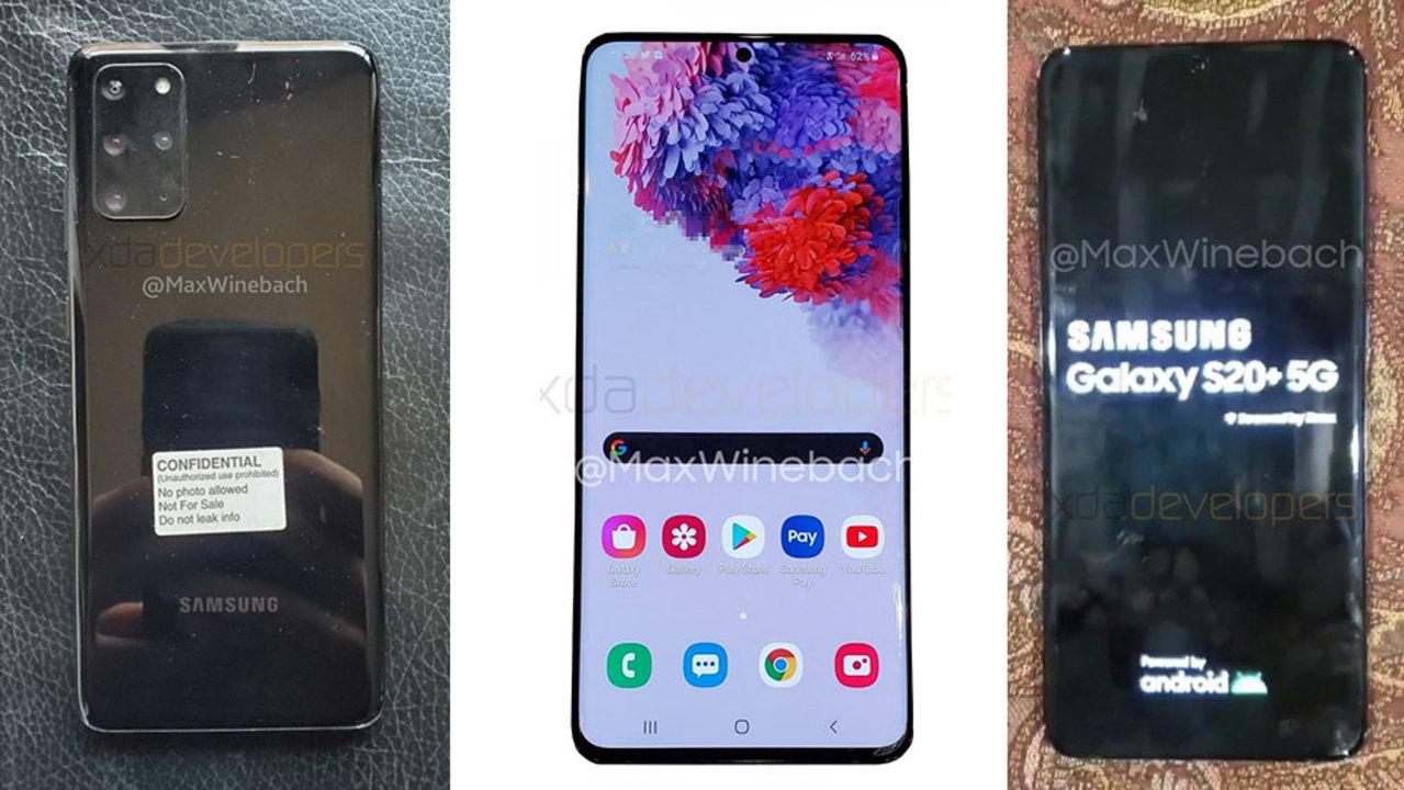 あ、十の位なんだ? SamsungのGalaxy新端末は「Galaxy S20」