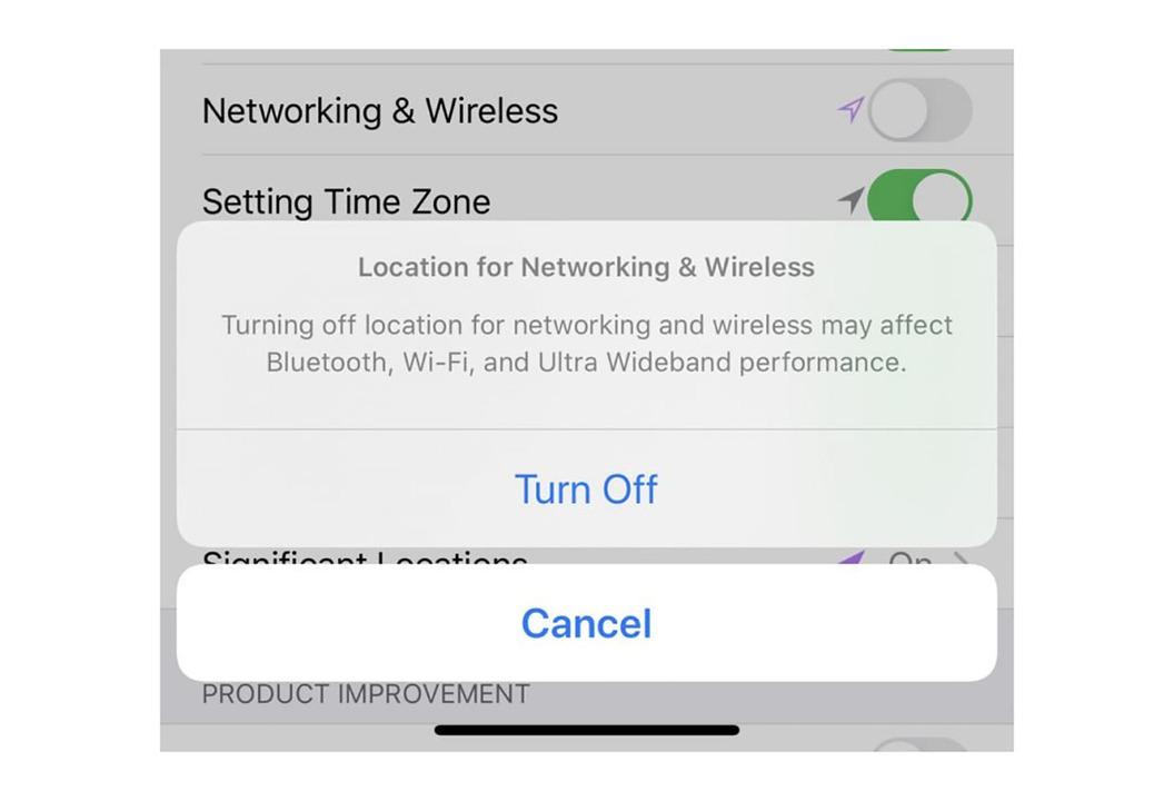 iOSベータ版にUWB通信のオンオフ設定が追加され、忘れ物防止タグの期待が高まる