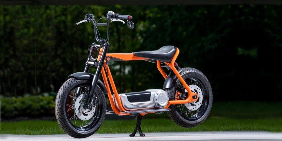 ハーレーダビッドソンの電動スクーター、原付みたいでちょい乗りに良さそう