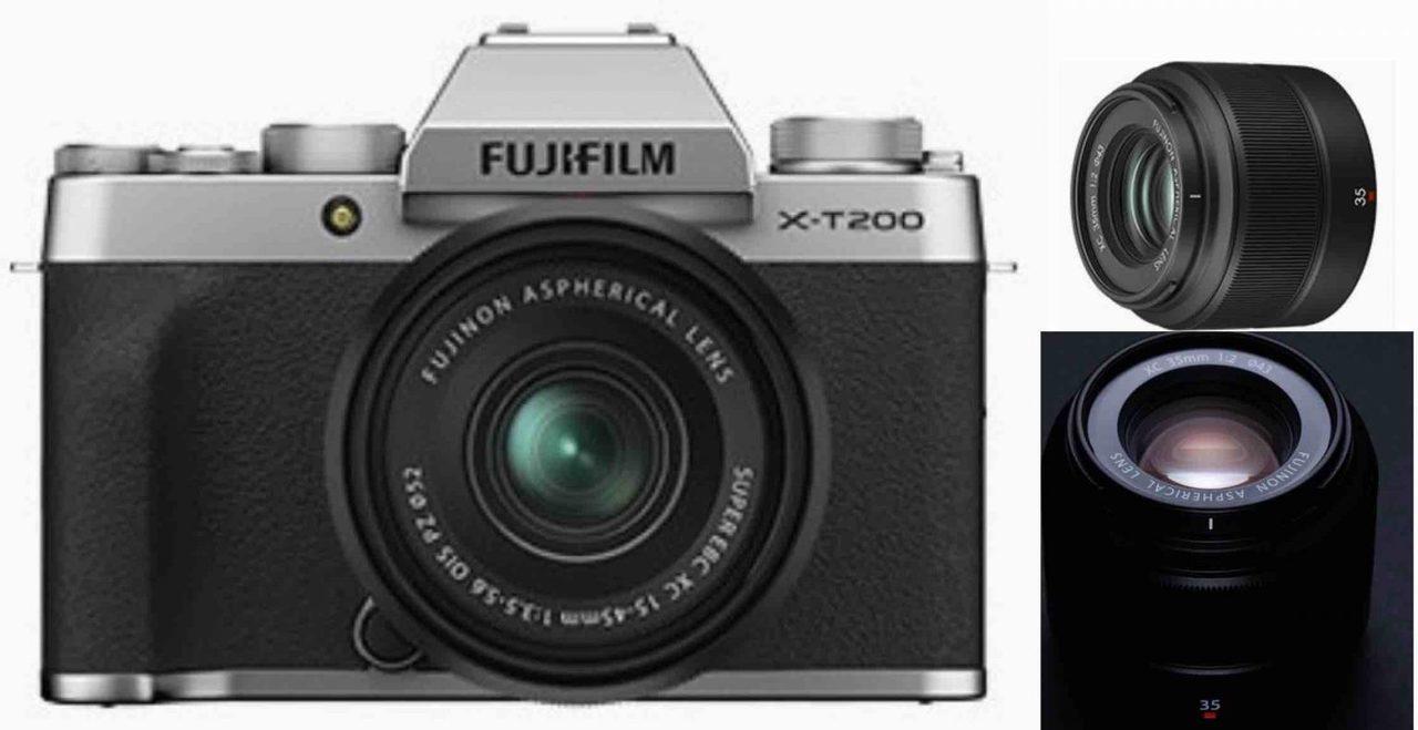 富士フイルム「X-T200」と「XC35mm F2」らしき画像がリーク。XC初の単焦点!