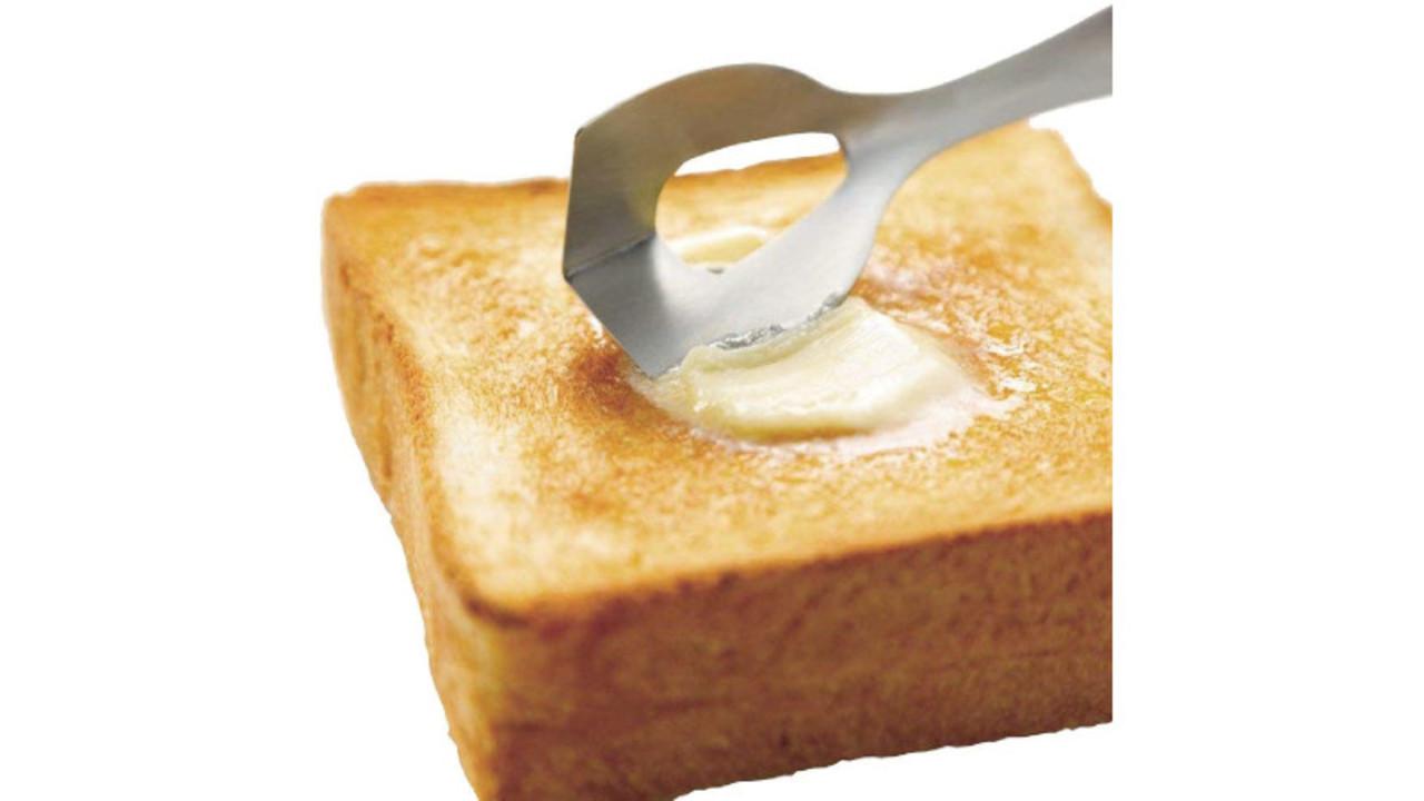 硬いバターが塗りやすくなり、料理の美味しさもアップ。バターナイフ3選