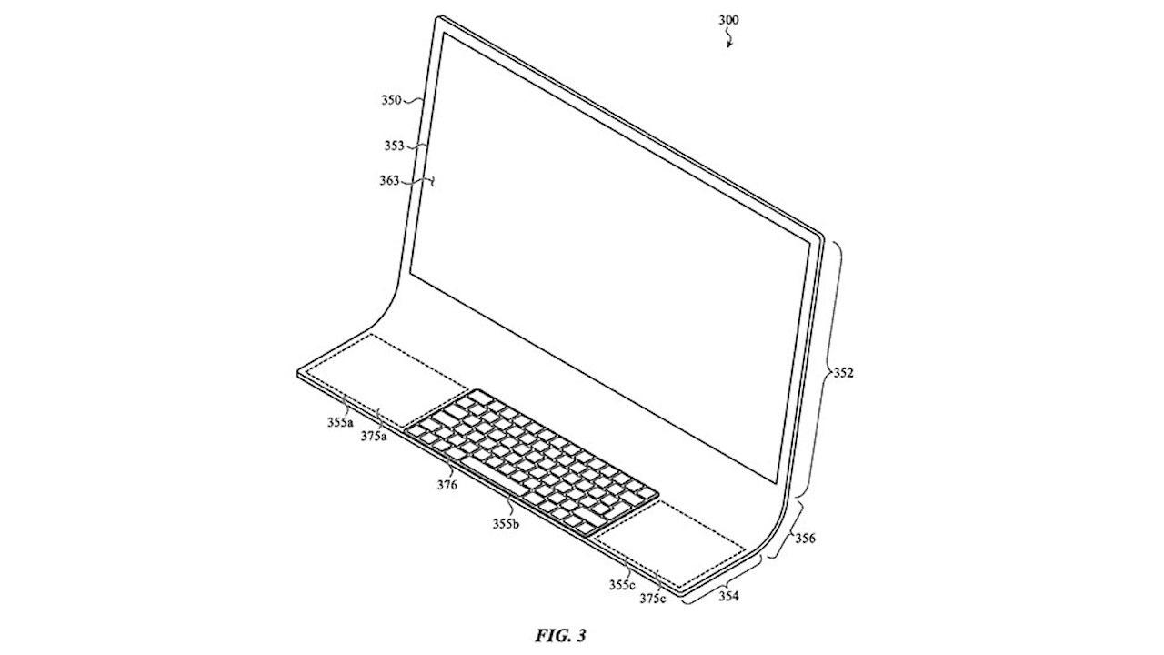 「ガラス筐体のiMac」とかいうロマン。Appleの特許にある、新しい一体型PCのアイデア