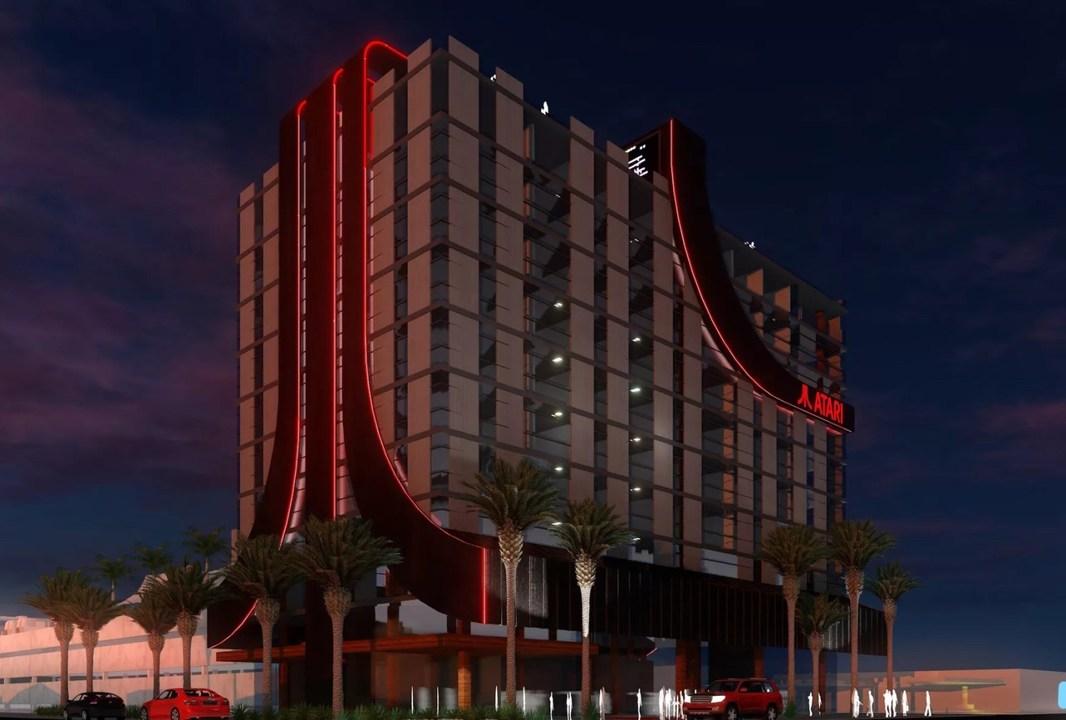 ゲームホテルあのATARIが米国内にゲームをテーマにした8軒のホテルを建設予定