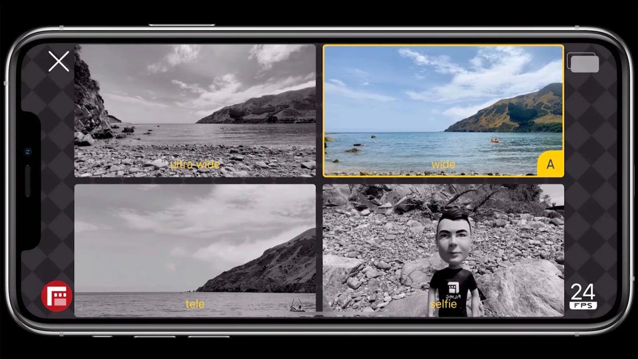 iPhoneの複数のレンズで同時に撮影できるアプリ「DoubleTake」