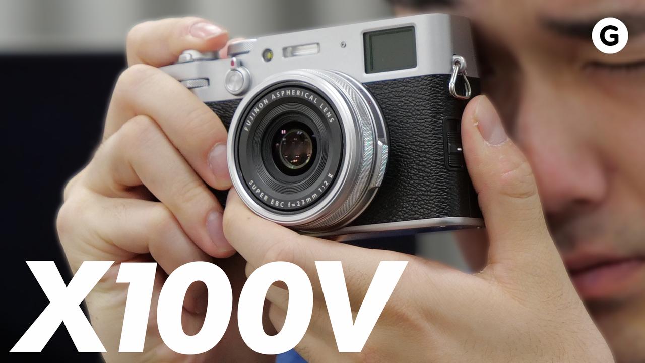 富士フイルム「X100V」動画ハンズオン:チルトモニターに何かしらの賞をあげたいね