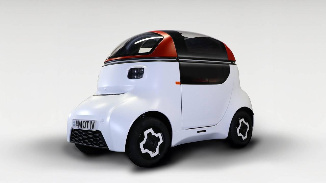 マクラーレンの元技術監督が作ったポッド型自律運転車がシャクれカワイイ