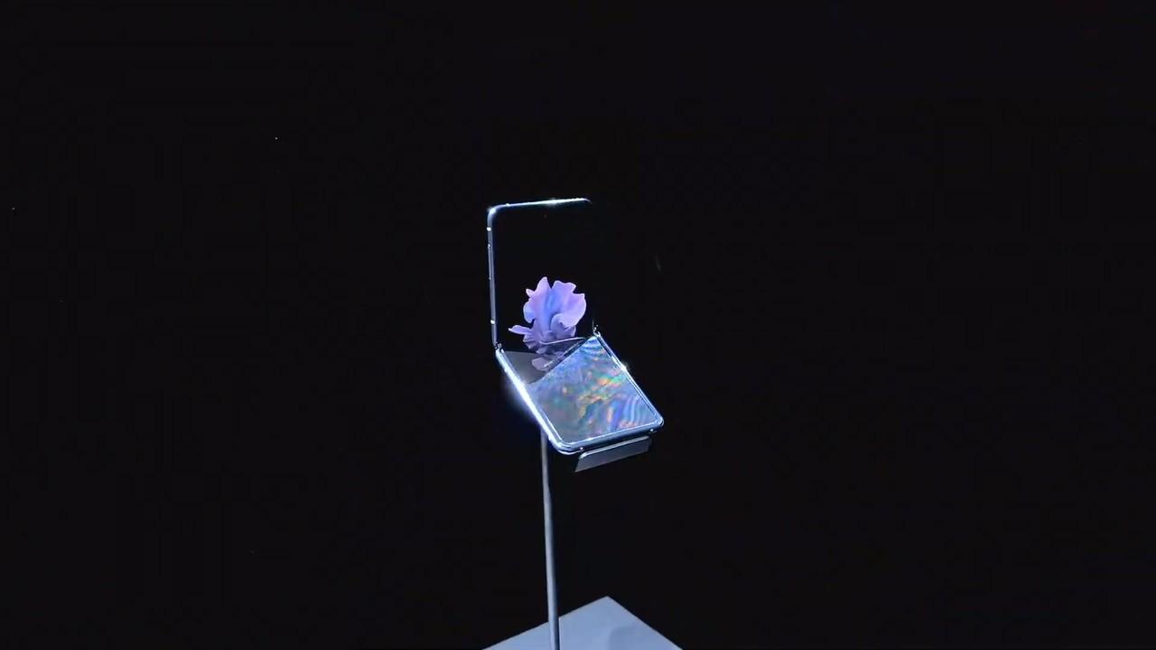 サムスンの新しいタテ型折りたたみスマホ、画面には「フィルムのように曲がるガラス」が使われてる #SamsungEvent