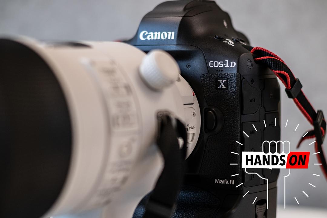 キヤノン EOS-1D X Mark IIIハンズオン:スマートコントローラは世紀の発明