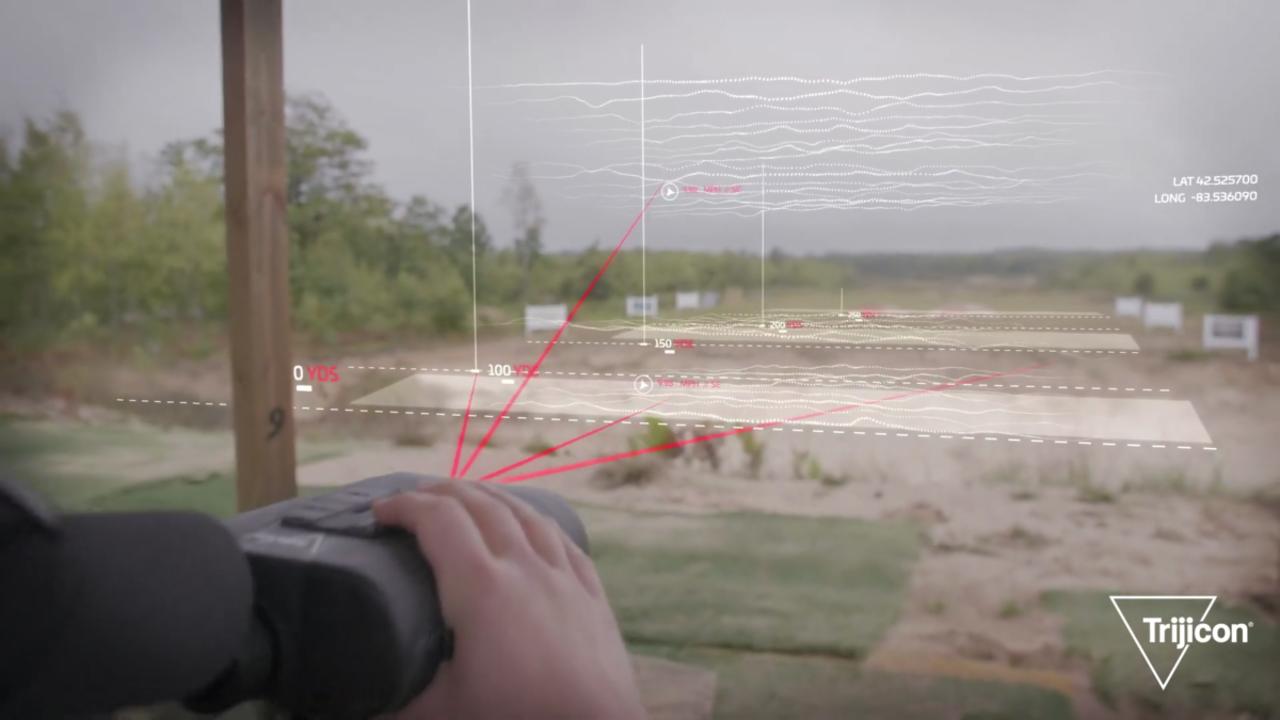 まるでアイアンマン。風を読み3Dビジョンで表示するスマート単眼鏡