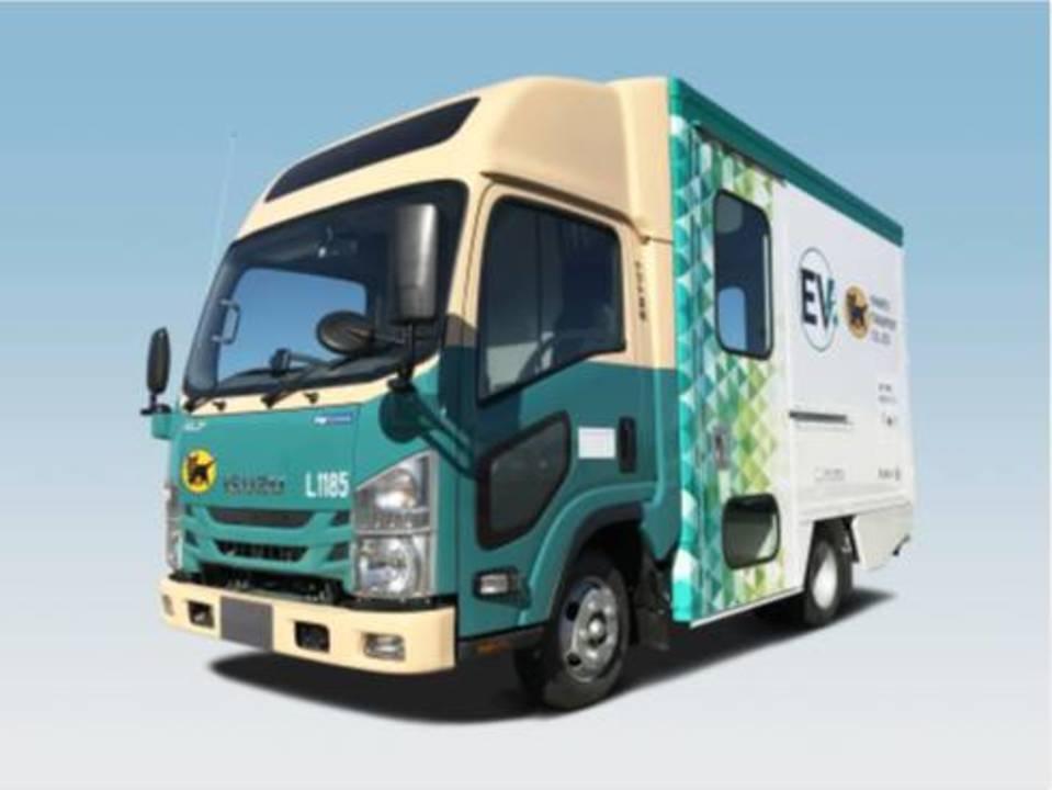 宅配もやがて電気で届く。クロネコヤマトが中型商用EVトラックを導入