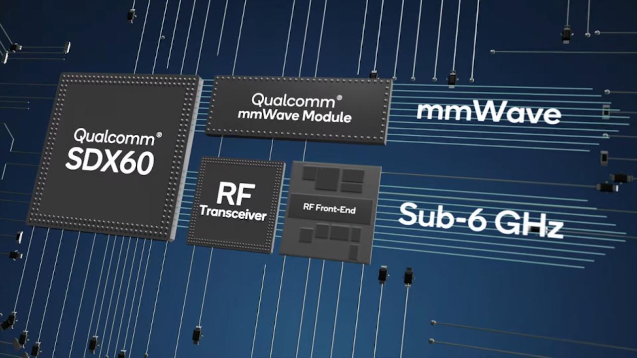クアルコムの新5Gモデムチップ「SDX60」はずげーぞー