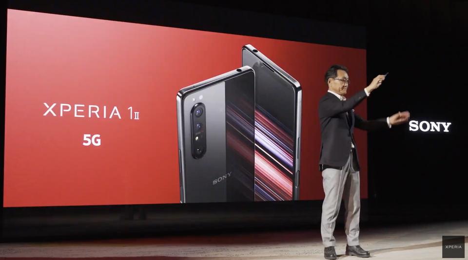 【速報】ソニーが新フラッグシップスマホ「Xperia 1II」を発表!「Xperia Pro」もチラ見せされたよ