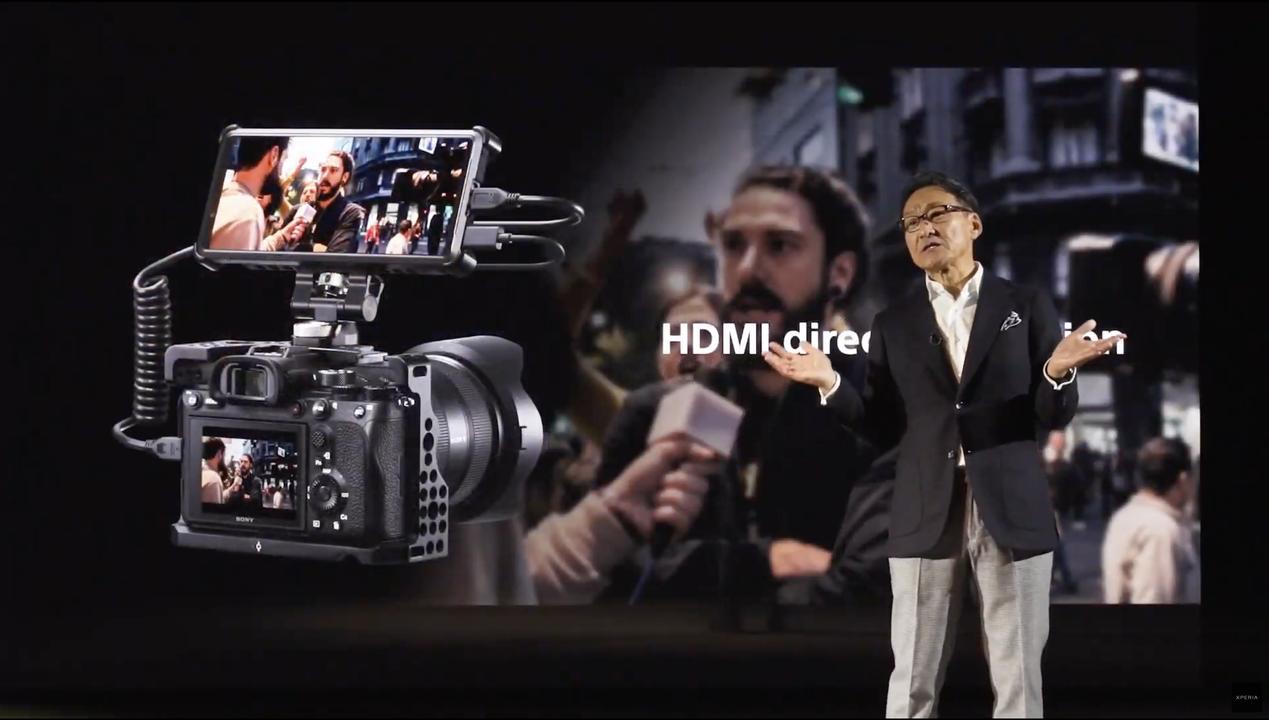 Xperia PROが一眼カメラと合体! アップロードもできる外部モニターに