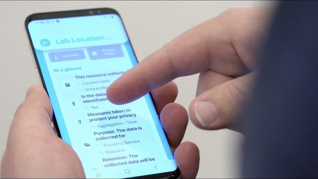 街中のIoT機器がどんな情報を収集しているのかを知らせるアプリ