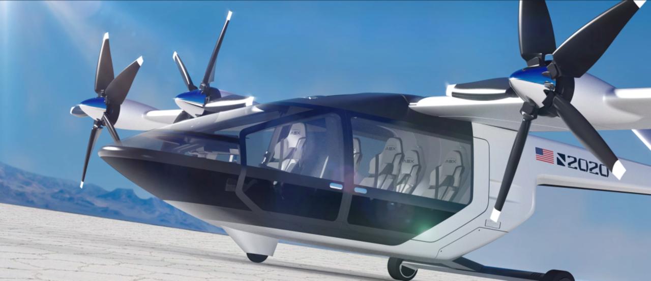 垂直離着陸するASXのプロペラ機、手頃な価格を目指して開発中