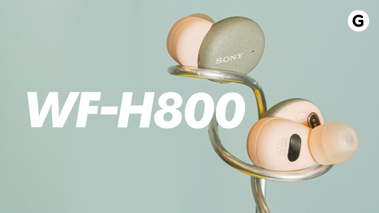 ソニー「WF-H800」動画ハンズオン:ノイキャンがすべてじゃないよね