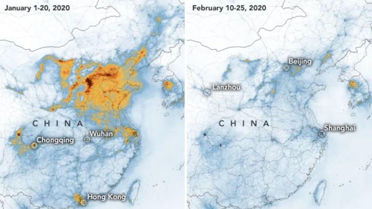 中国の大気汚染が、コロナウイルスの影響で激減 | ギズモード・ジャパン
