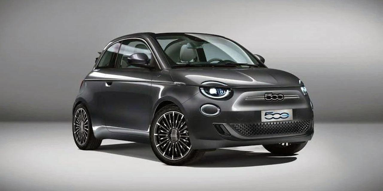 新型電気自動車のFiat 500eのデザインがクールでシックでかっこいい!