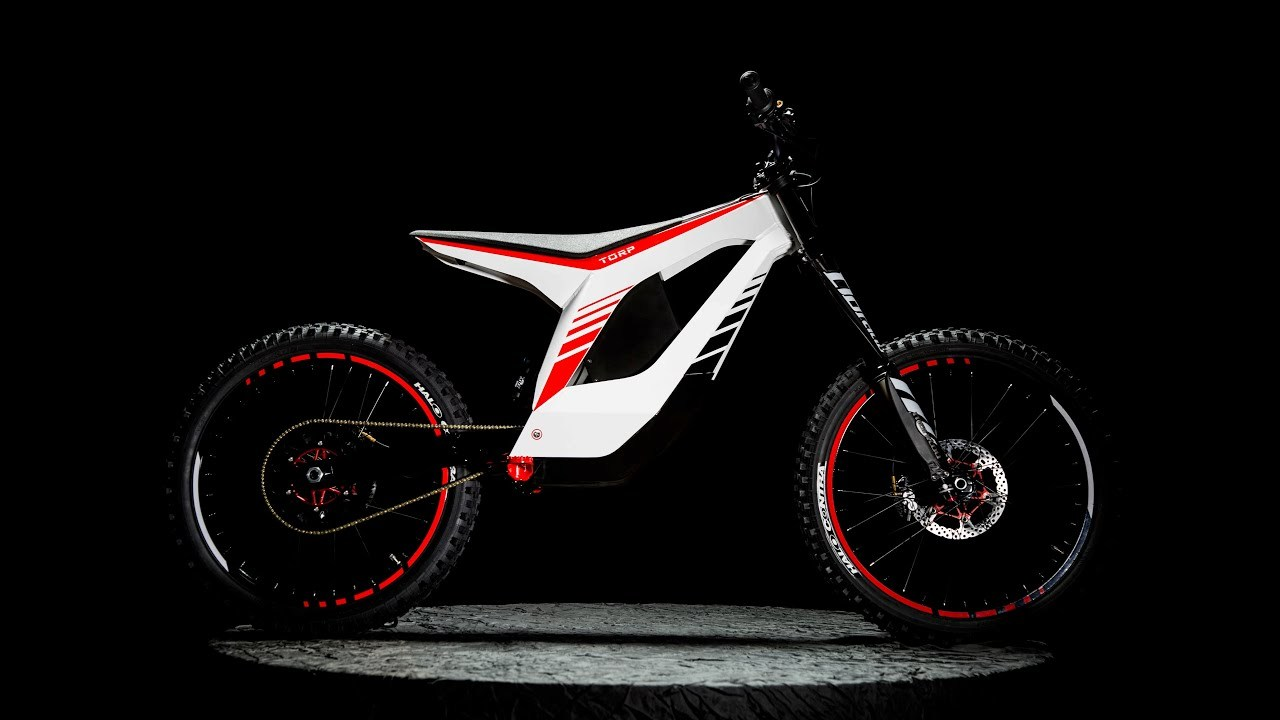 まるで自転車。市場最軽量29kgの電動ダートバイク「TORP BIKE」