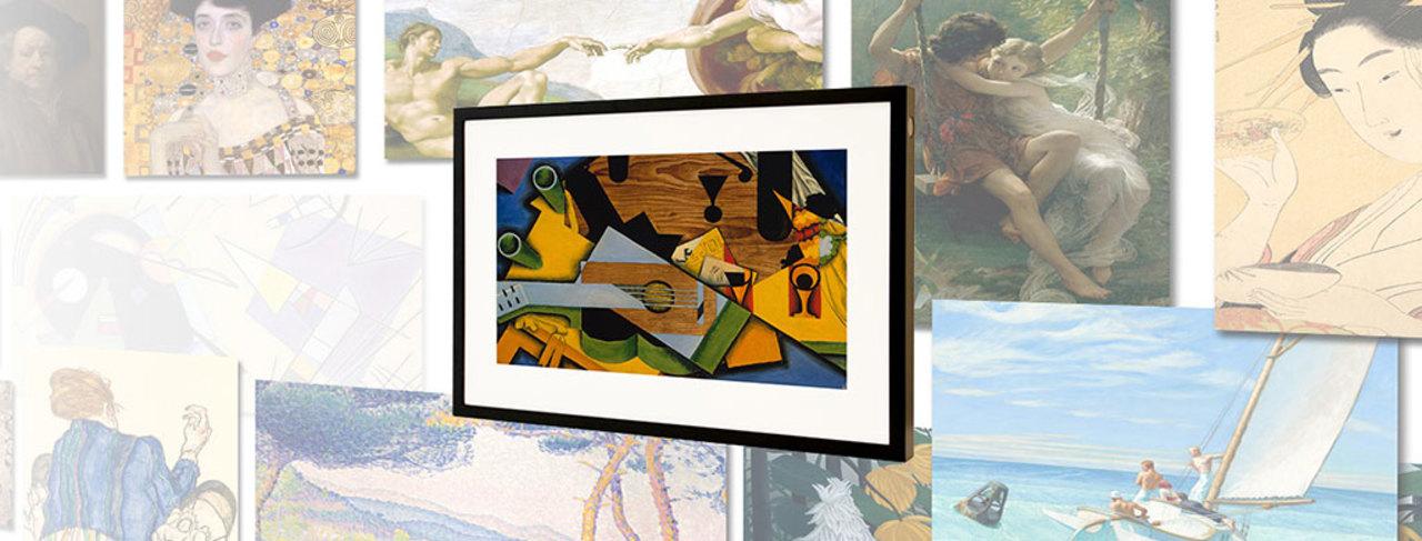 自宅が美術館に! 超高画質の名画を表示するスマート・ディスプレイ