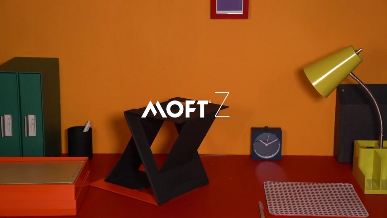 4段階の角度にトランスフォームするノートPC用スタンド、MOFTから登場