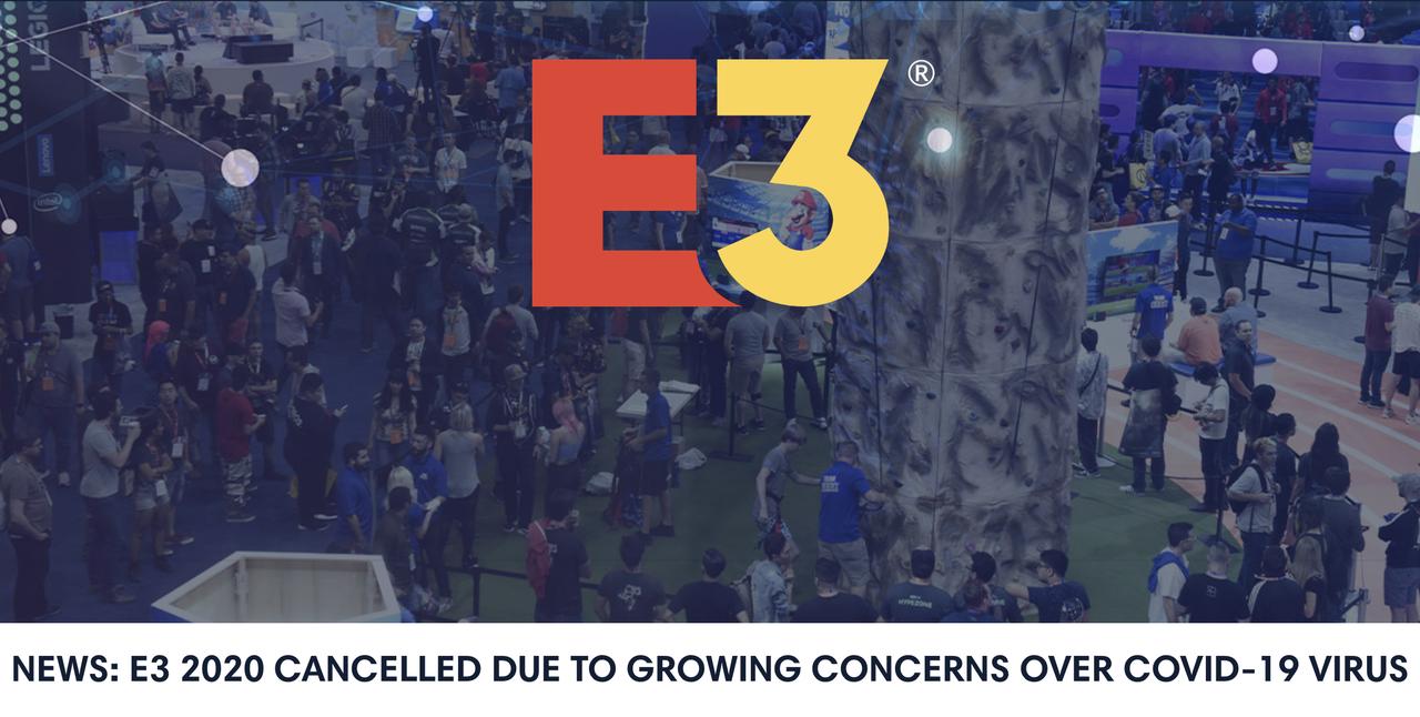世界最大のゲーム見本市「E3」、今年は中止へ