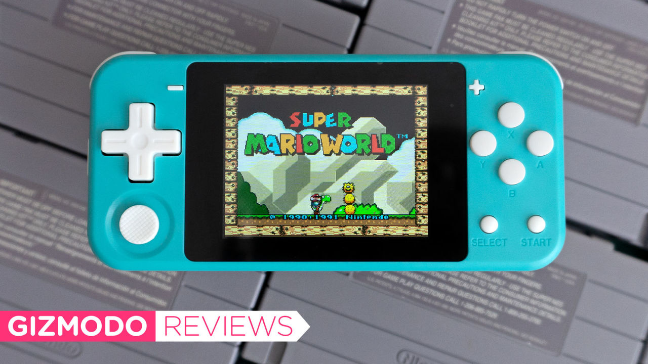 Switch Liteみたいなクラシックゲームエミュレータ。パワー不足だけどめちゃ楽しい