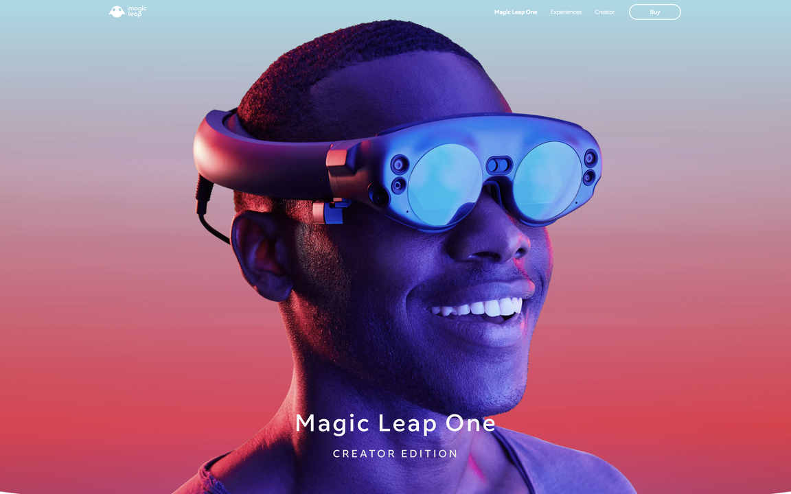 仮想世界との融合はもうすぐ? ドコモがMRヘッドセット「Magic Leap 1」を発売