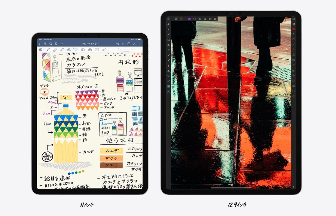 発売日は3月27日! 国内3キャリアが新しいiPad Proの取り扱いを発表