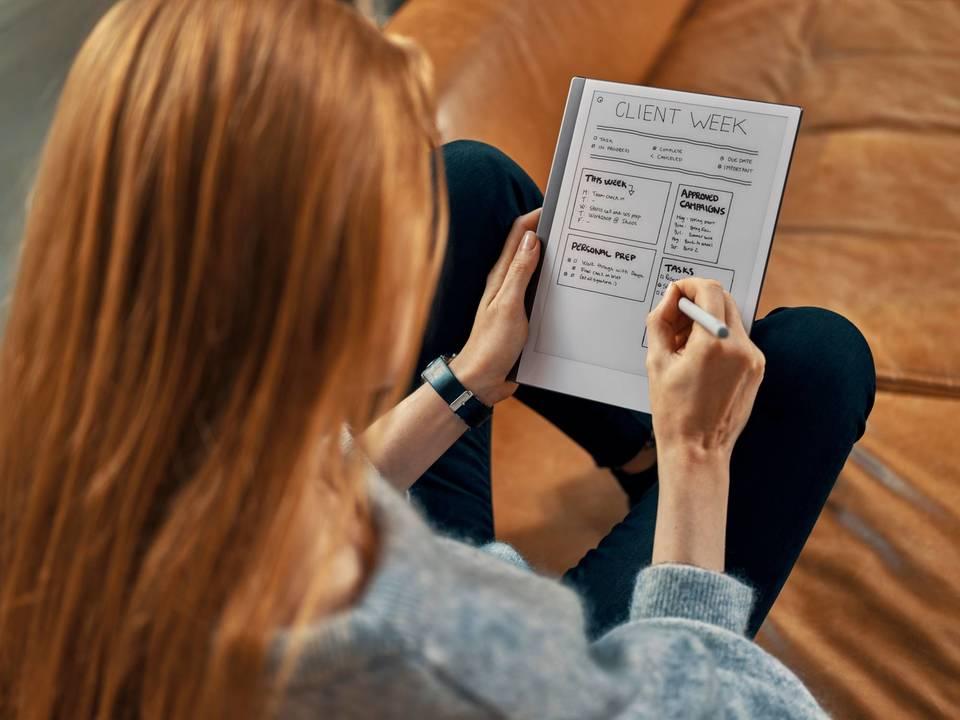 応答速度を改善、紙の書き心地を再現。デジタル・ペーパータブレット「reMarkable 2」