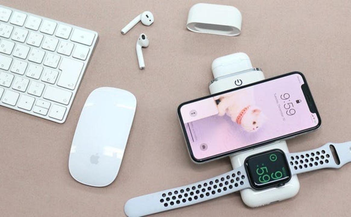 iPhoneやApple Watchを同時充電できる、4in1無線モバイルバッテリーがキャンペーンを開始