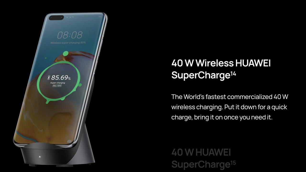 ワイヤレス充電、いつのまにか有線充電クラスに速くなっていた。ファーウェイ「P40 Pro+」バケモノかよ…
