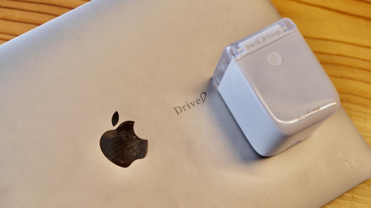 支援額2億3000万円を突破! モバイルプリンター「PrinCube」を使ってみた