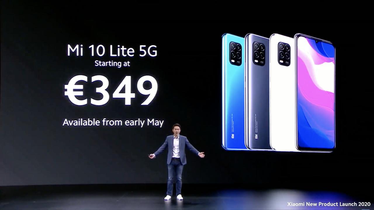 シャオミ「Mi 10 Lite」なら4万円ちょっとで5Gできるんだね