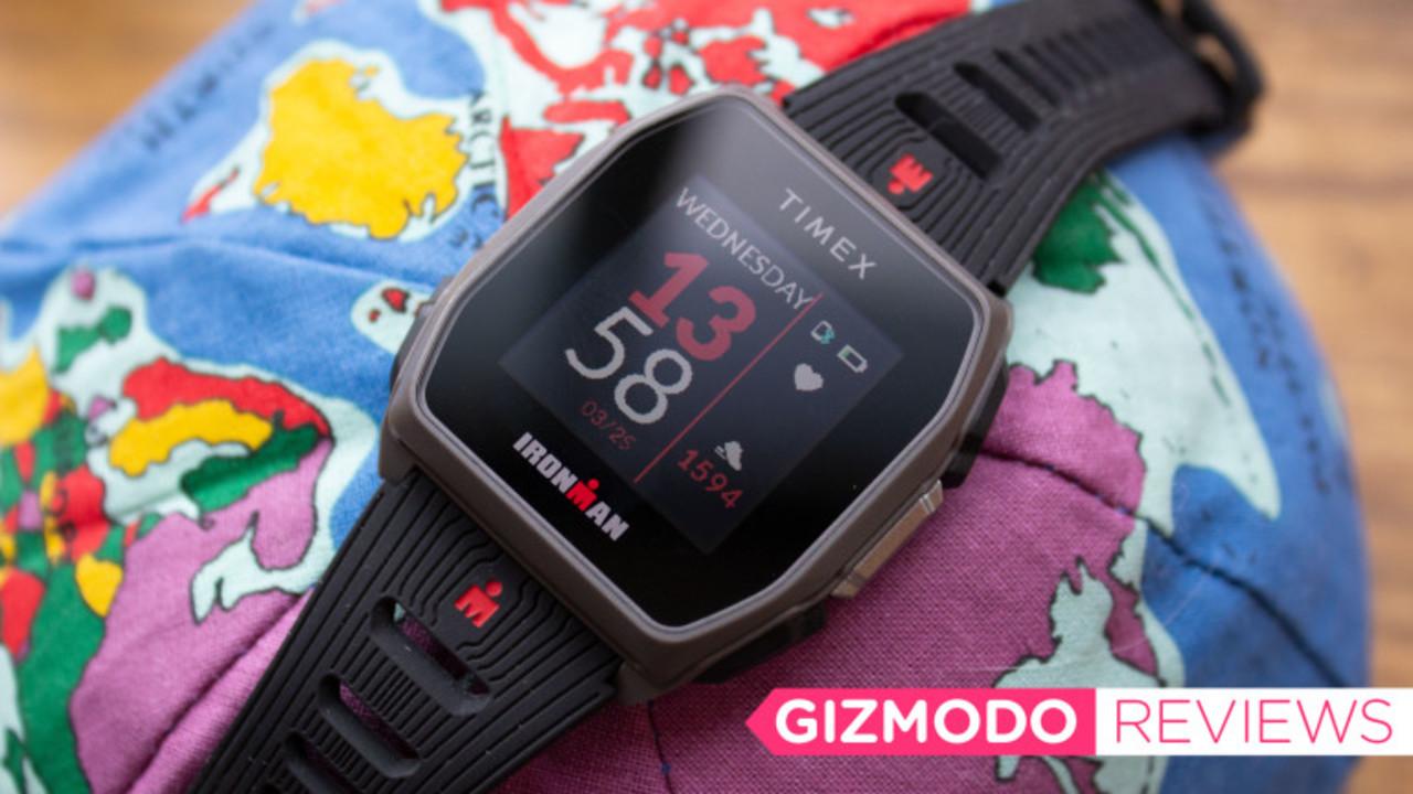 Timexスマートウォッチ「Ironman GPS R300」レビュー:ほぼ1か月充電不要で1万円台!