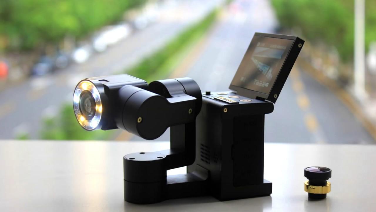 自動で動く3軸ジンバルがひとつになった自撮り動画カメラ「IDOLCAM」