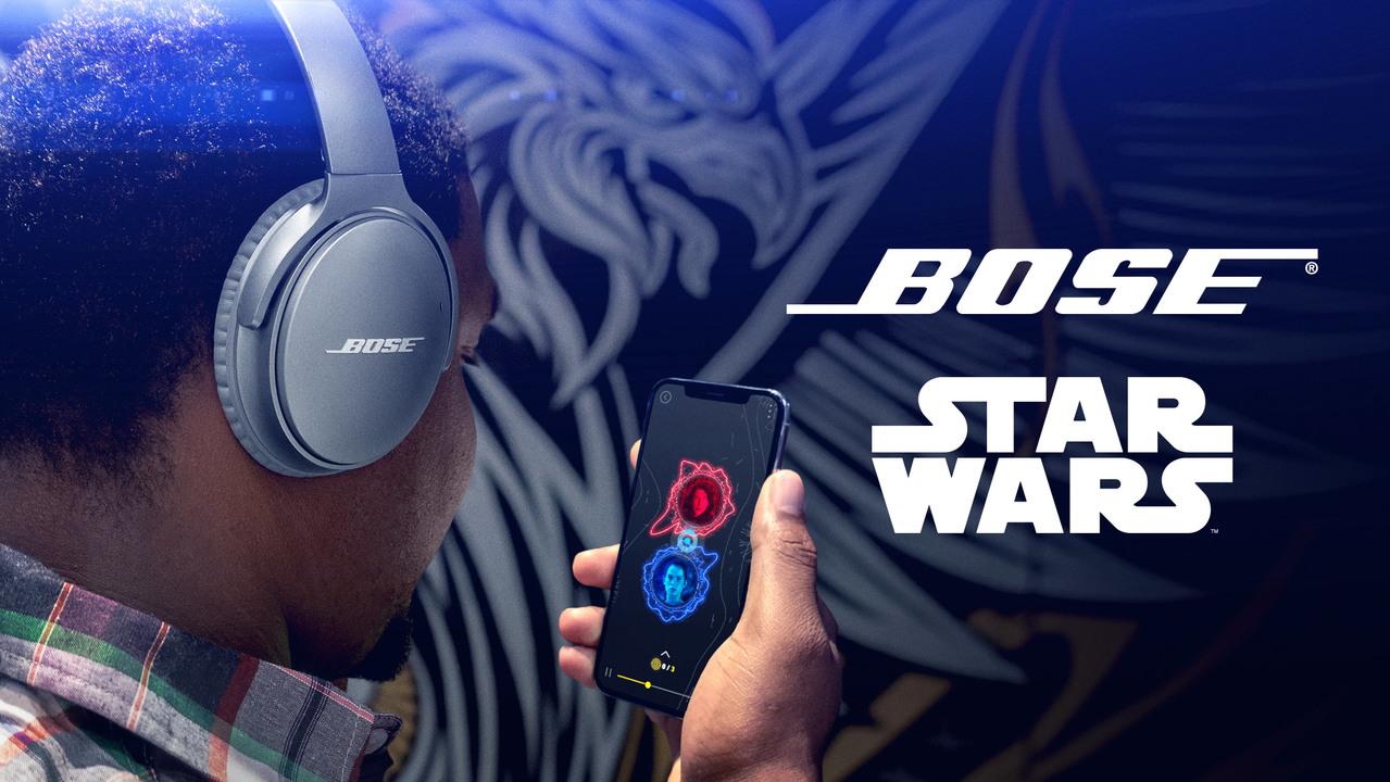 映画『スター・ウォーズ』のキャラ視点で音を疑似体験できる「Bose Star Wars Audio AR」