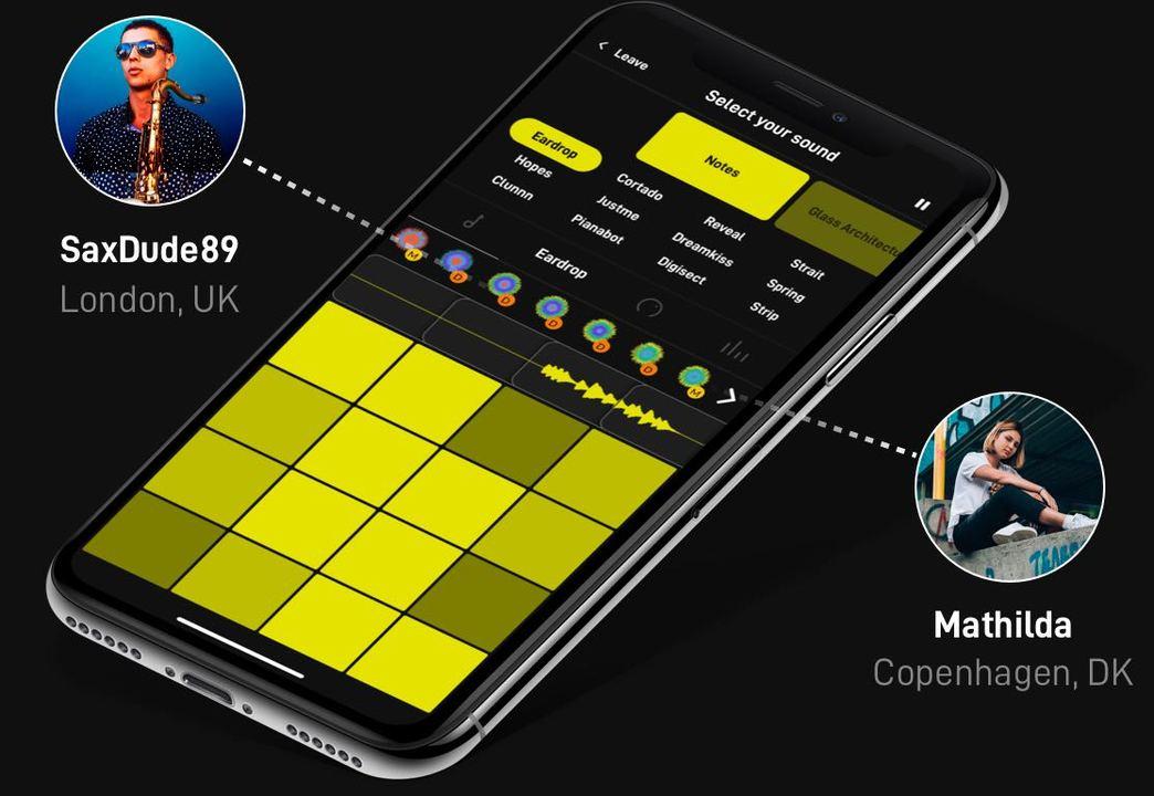 仲間とシェアして一緒に音作り。SNS的作曲アプリ「ENDLESS」