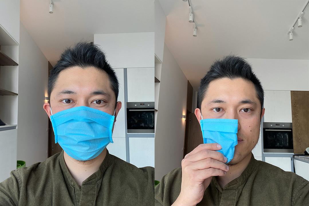 マスク装着してFace ID、できちゃいました(ただし50%くらいの確率で)