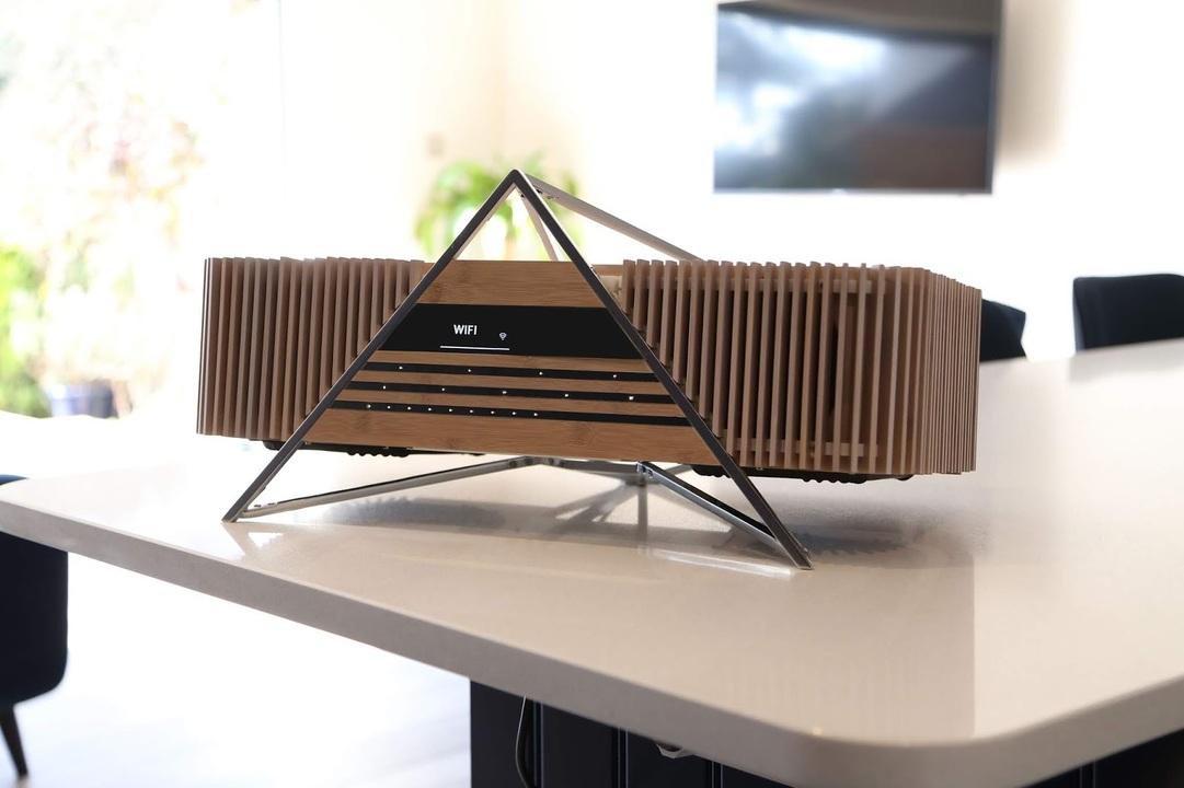 外装が竹製のミュージックプレーヤー。これが家にあったらテンション上がっちゃう!