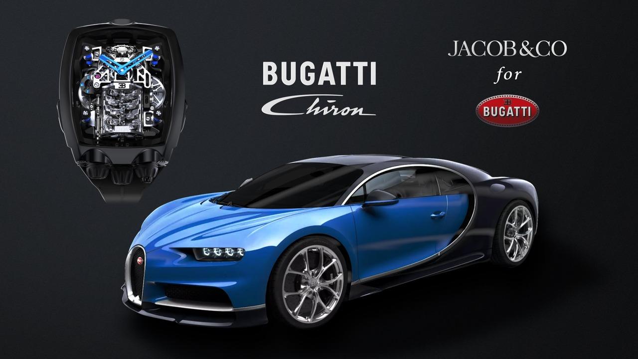 W16エンジンを載せたブガッティ・シロンの高級腕時計、3000万円!