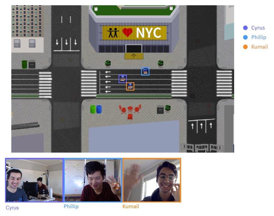 ネット会議は、ファミコンみたいな世界のなかで! 8ビットRPG風の街でビデオチャットできる「Online Town」