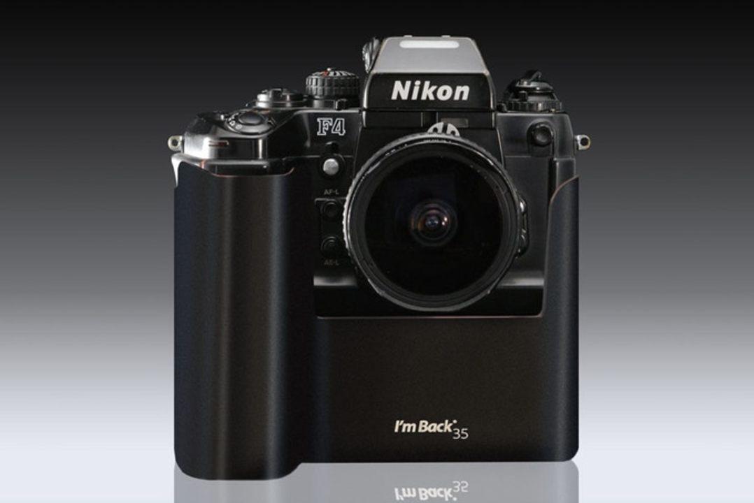 懐かしのフィルムカメラをデジカメに変身させる「I'm Back 35」