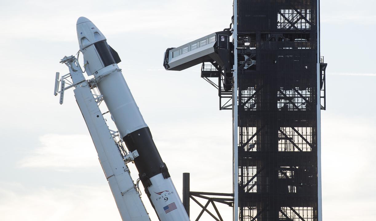 NASA×スペースX、来月27日に有人ロケット打ち上げへ。米国内からの打ち上げは約10年ぶり