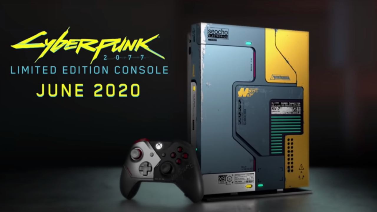 『Cyberpunk 2077』仕様のXboxカッケェ!