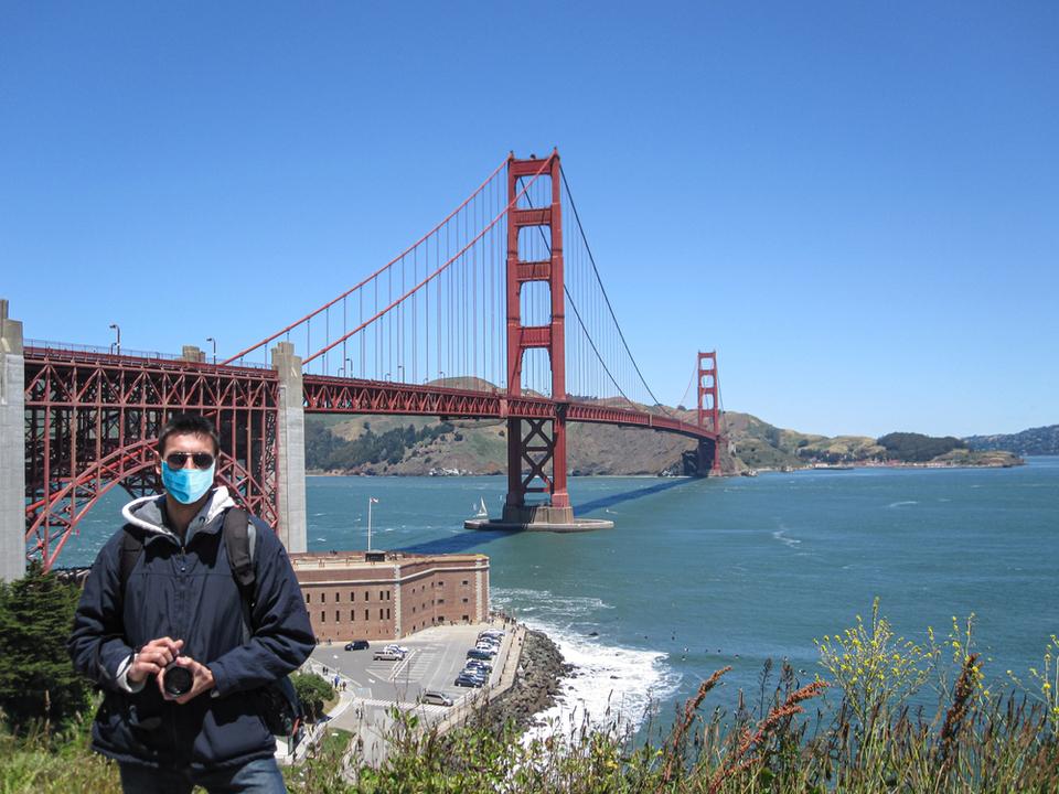 サンフランシスコ、外出中はマスク必須。しないと罰金