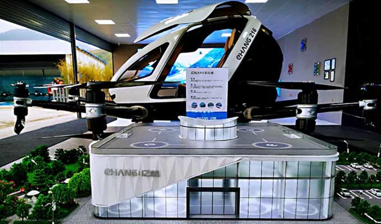 空飛ぶタクシーEHang、2020年末には専用ターミナルが完成しちゃうらしい
