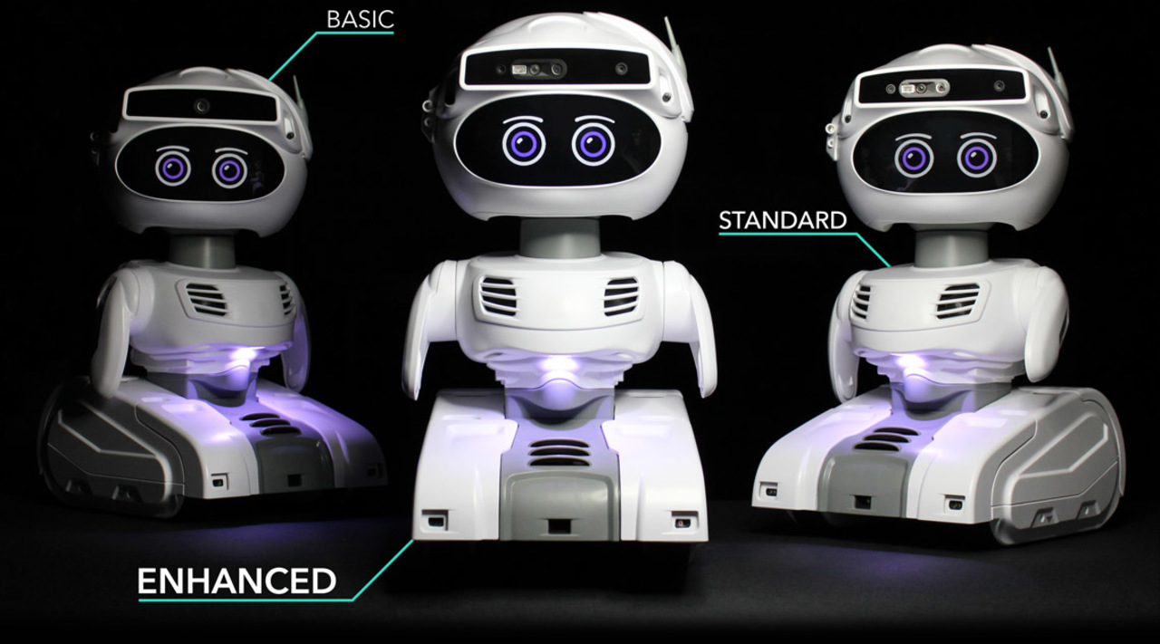 玄関先の守り神。体温を測り責任者に通知する顔認証ロボット「Misty II」