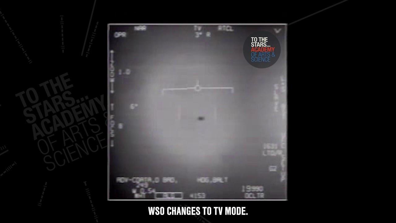 """アメリカ国防総省、リークした海軍の""""UFO""""映像を本物と認め正式に公開"""