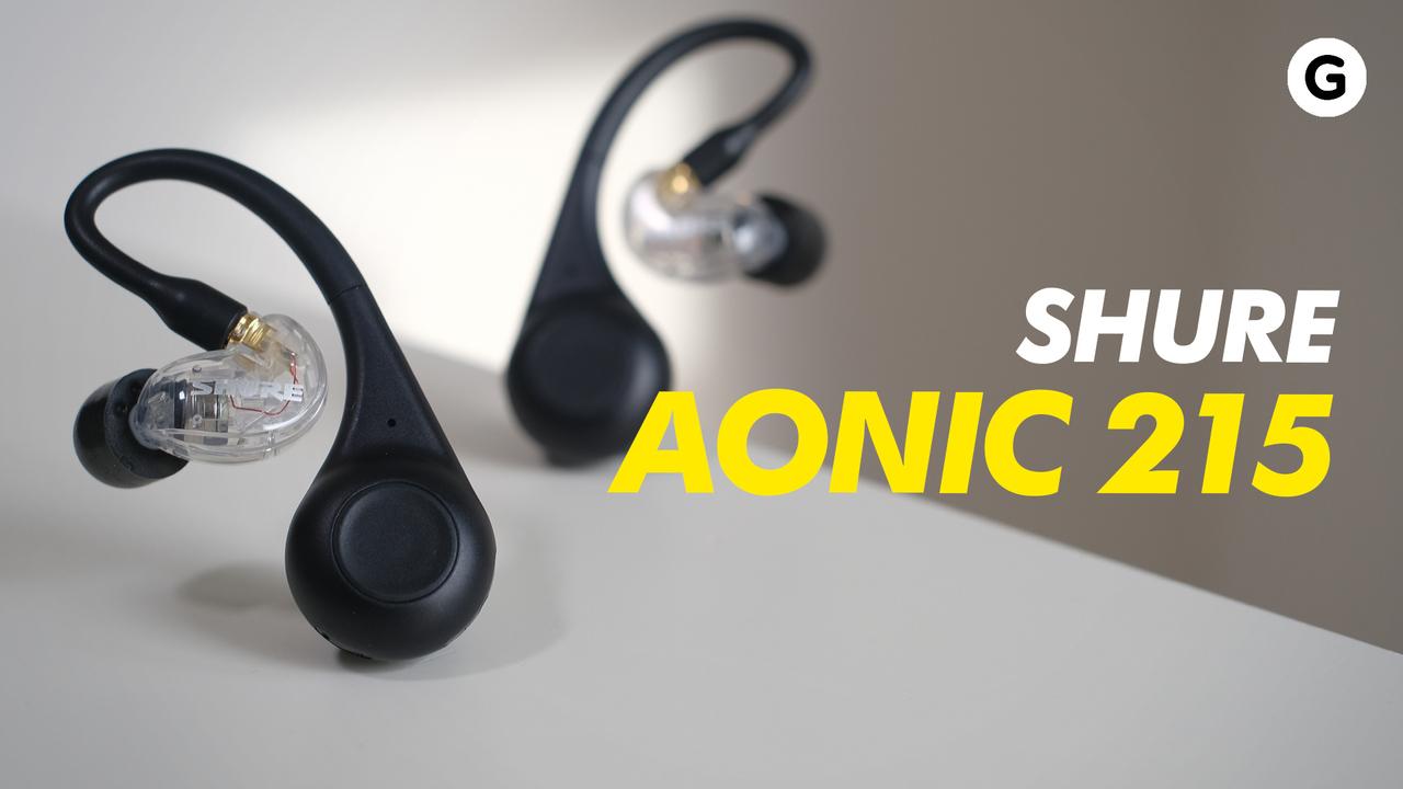 SHURE AONIC 215 ハンズオン:音はいい! 完全ワイヤレスとしては、うーん。